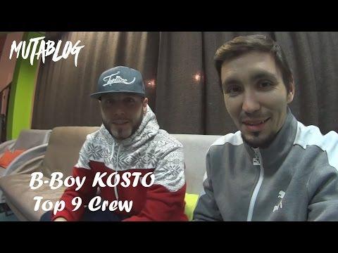 B-Boy Kosto (Top 9 Crew) Interview. Mutablog