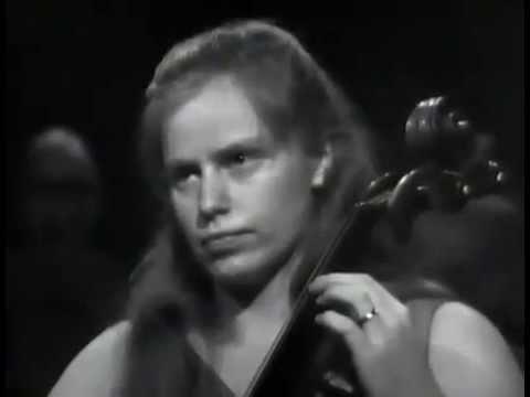 Edward Elgar: Cello Concerto in E minor, Op 85 Jacqueline du Pré; Daniel Barenboim, 1967 FULL VIDEO