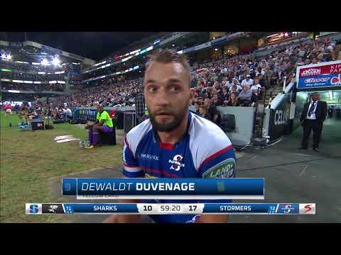 HIGHLIGHTS 2018 Super Rugby Week 10 Sharks v Stormers
