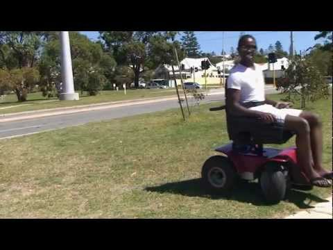 Magic Mobility Four Motor Drive Wheelchair