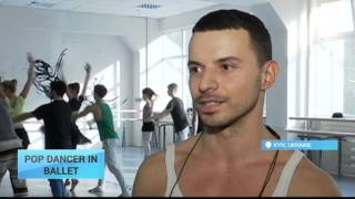 Stilettoes for Ballet Slippers: Member of Ukrainian men in heels dance group returns to his passion