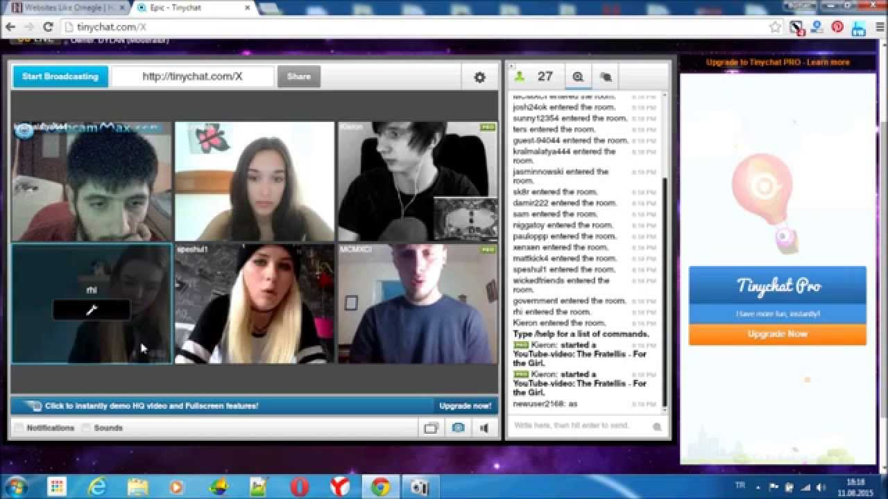website like omegle how to chat online