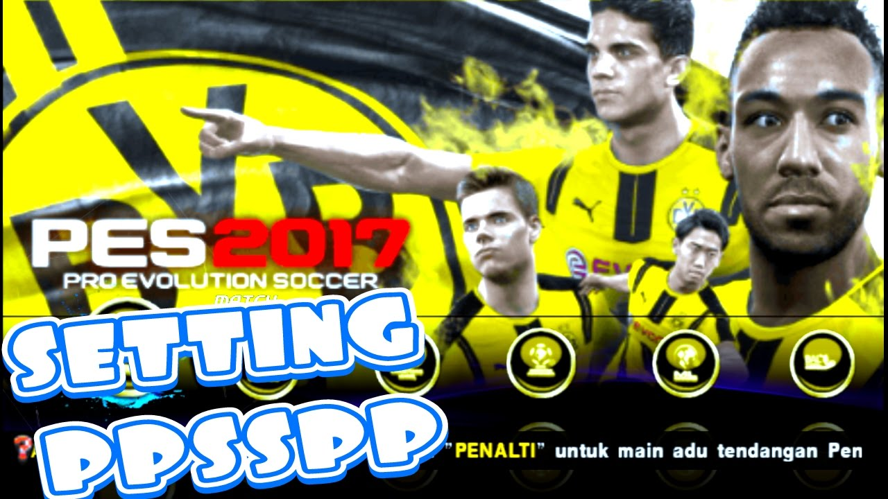 PES JOGRESS 17 v2 #Setting ppsspp - downloa.dk