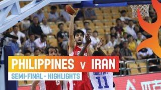 Philippines v Iran - Highlights Semi-Final - 2014 FIBA Asia Cup