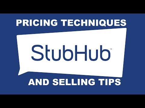 Stubhub & Ticketmaster: 5 Pricing Techniques and Tips for selling tickets.  Watch the presale! Mp3
