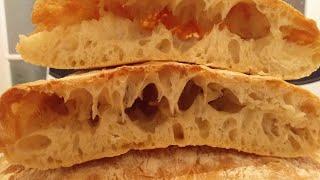 Хлеб Чиабатта . Лучший рецепт.