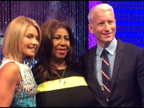 Aretha Franklin on LIVE with Kelly and Michael