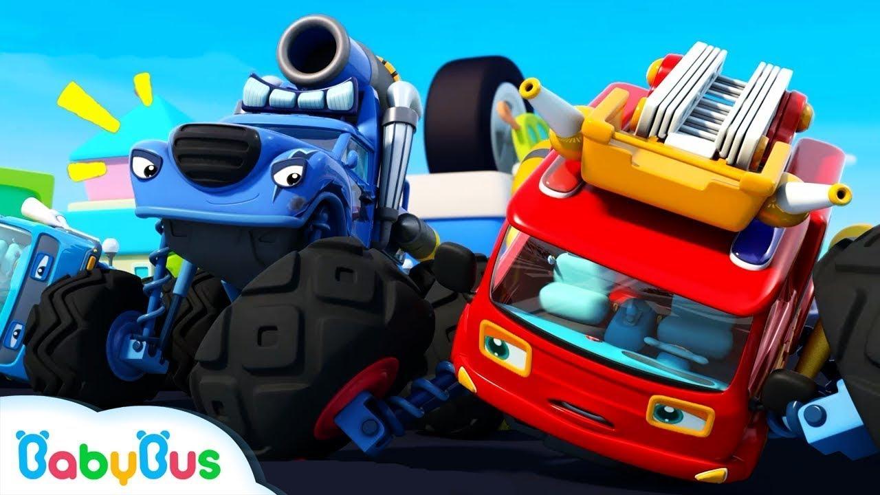 Xe quái xế Rắc Rối gian lận | Cuộc thi của xe quái xế | Nhạc thiếu nhi vui nhộn | BabyBus