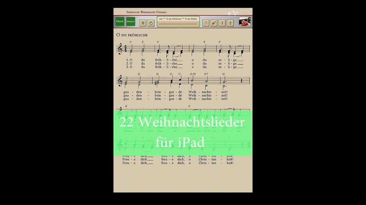22 deutsche weihnachtslieder zum singen h ren und. Black Bedroom Furniture Sets. Home Design Ideas