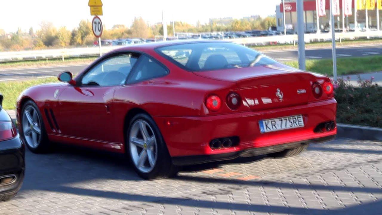 Ferrari 575 Maranello Sound - YouTube