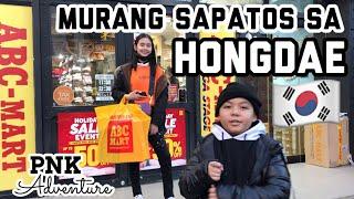 TRAVEL VLOG: Murang sapatos sa Hongdae, South Korea | PNK Adventure