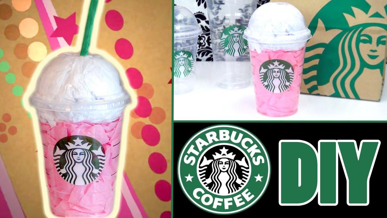 Diy Starbucks Room Decoration Youtube