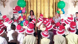"The First Lady Reads Dr. Seuss's ""Oh, the Things You Can Do That Are Good For You"""