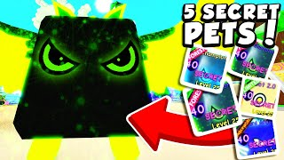 We hatched 5 SECRET PETS using this 1 trick in Roblox Bubble Gum Simulator!