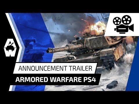 Armored Warfare PS4 - Announcement Trailer