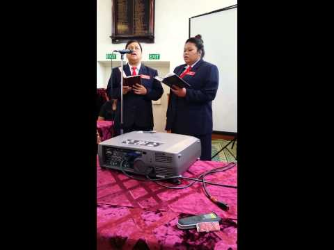 SISDAC TMI - Jenee & Pauline sings for St...