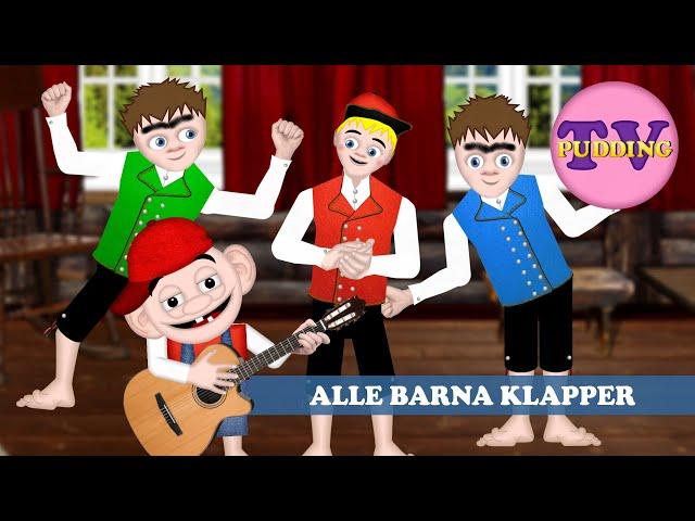 Alle barna klapper - Norske barnesanger