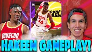 NBA 2K16 MyTeam Amethyst Hakeem Olajuwon Gameplay! NBA 2K16 My Team!