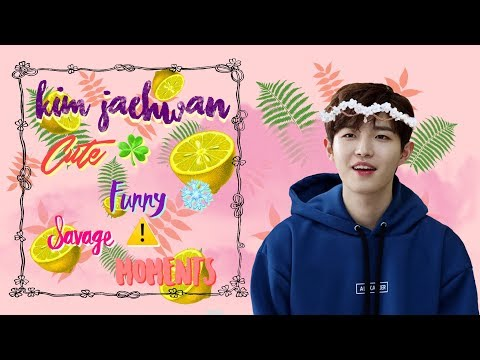 Wanna One Kim Jaehwan Cute & Funny & Savage af Compilation #1 | 워너원 김재환