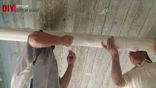amazing construction skills ||false ceiling diy ||amazing skills false ceiling