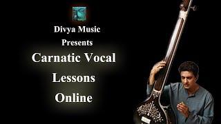 Carnatic Singing lessons online skype Karnatic Music Vocal classes India