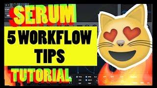 5 Workflow Tips - XFER Serum