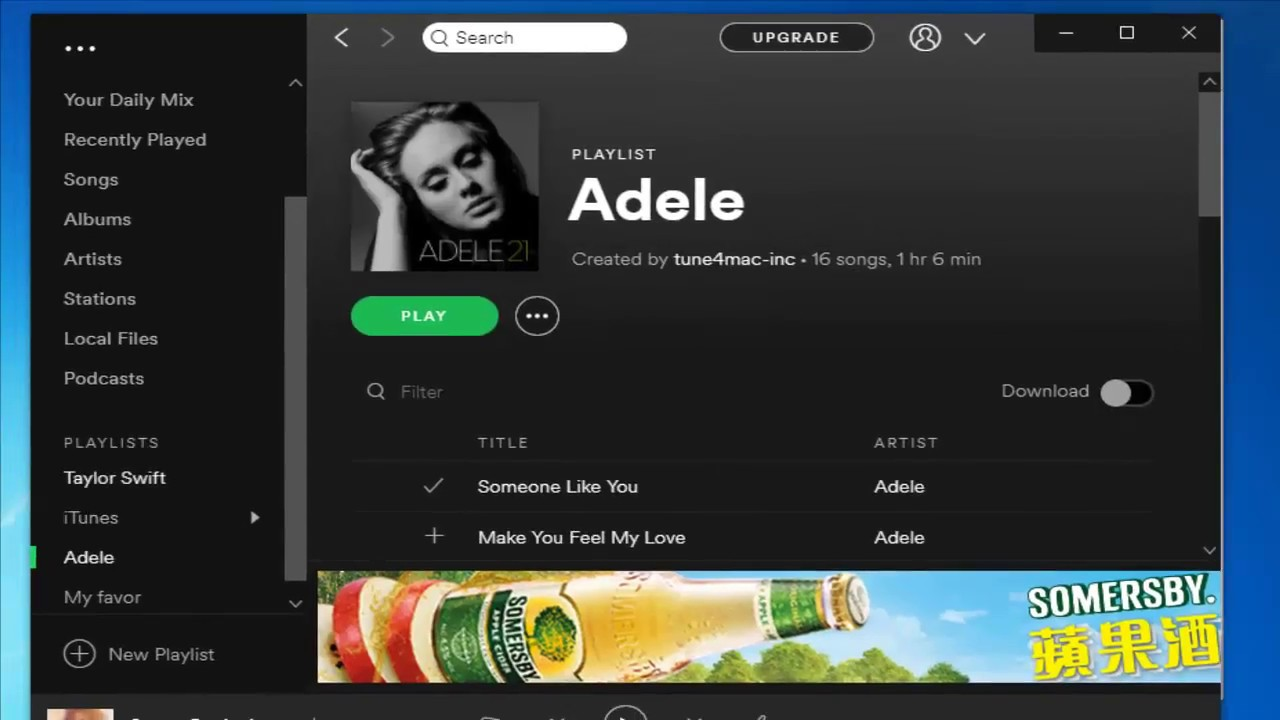 Free Spotify Playlist downloader