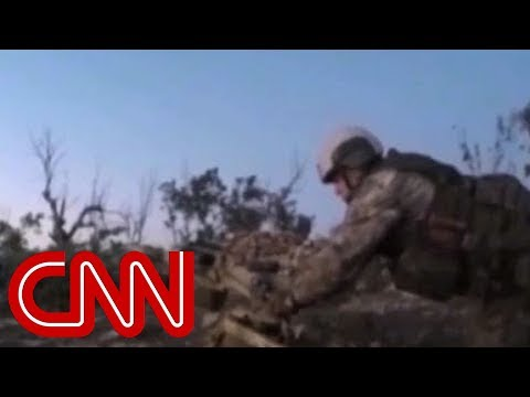 Video Shows Russian Special Troops In Syria