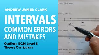 Intervals: Music Theory RCM Level 5 (4/4)