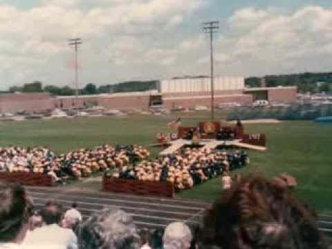 Cadillac Senior High School, Cadillac, Michigan class of 1987 graduation day