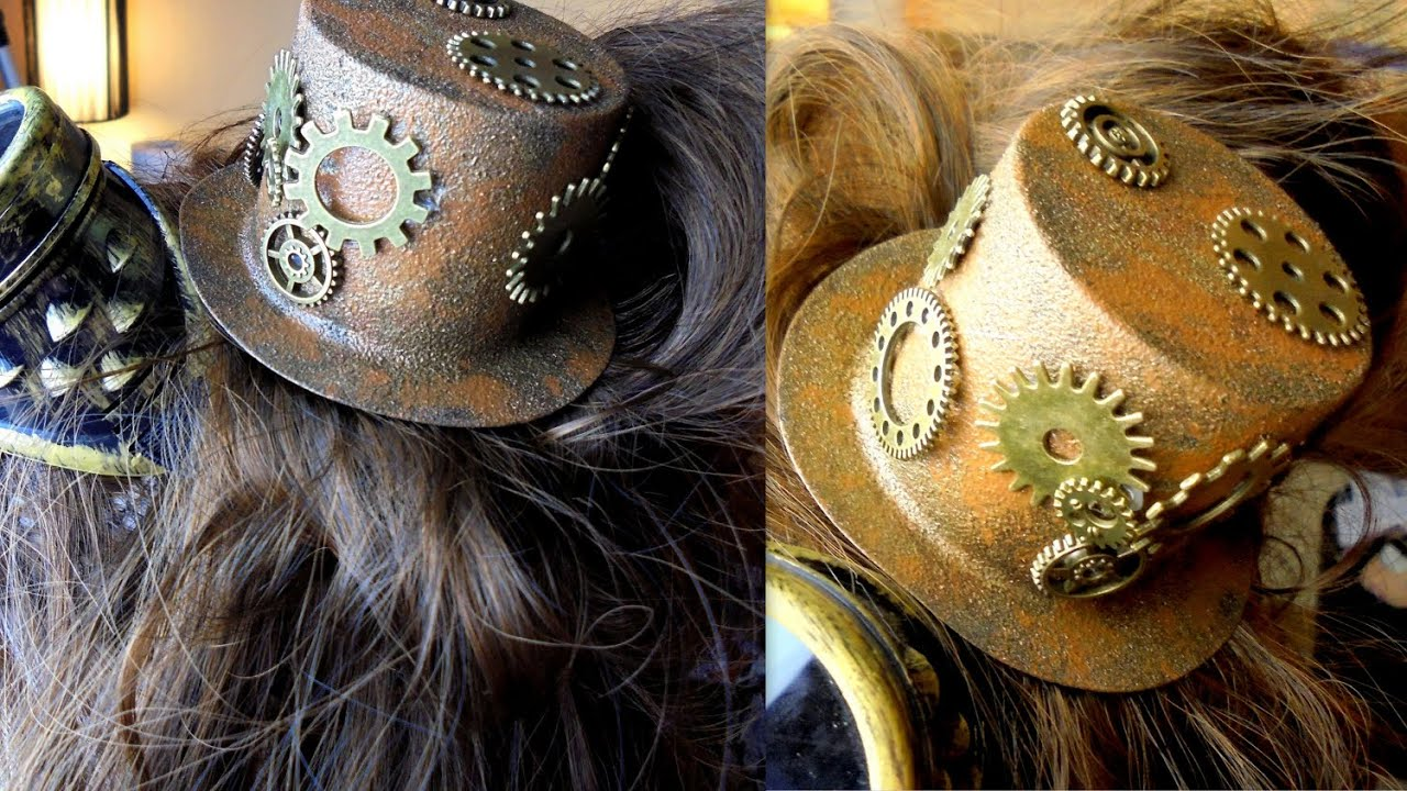 Diy Steampunk Mini Zylinder Tutorial Youtube