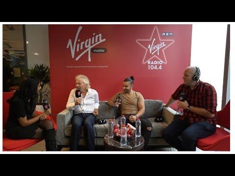 Sir Richard Branson launches Virgin Mobile UAE.