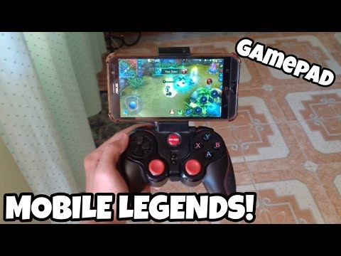 How To Play Mobile Legends Using Gamepad Controller!!!