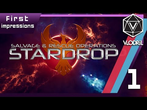Salvage and Rescue - Stardrop First Impressions - Part 1 - Early Access - PC Gameplay - 1080p