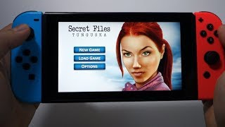Secret Files: Tunguska Nintendo Switch gameplay