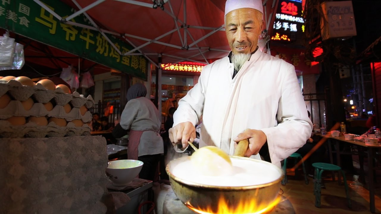 muslim chinese street food tour in islamic china best halal food and islam food in china youtube