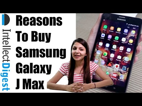 Reasons To Buy Samsung Galaxy J Max | Intellect Digest