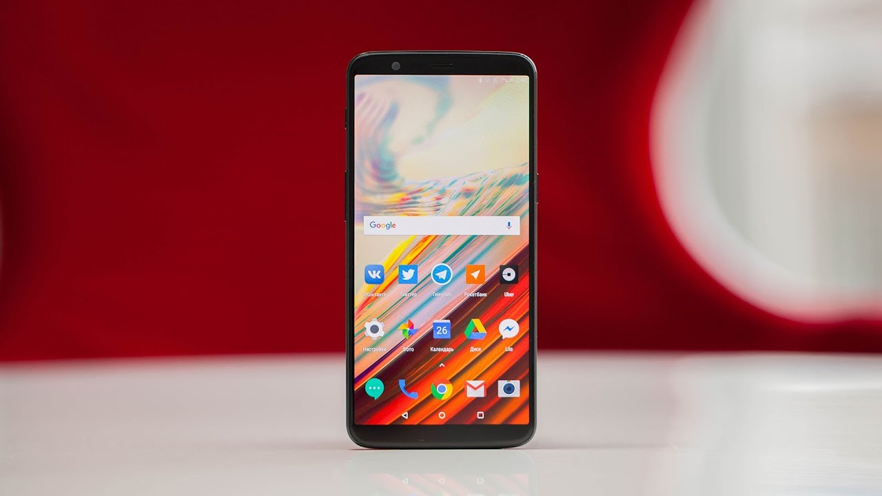 video OnePlus 5T 8GB/128GB (красный)