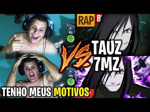 REACT Rap do Orochimaru Naruto TAUZ VS 7MZ