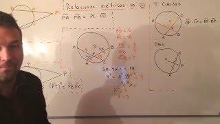 Ejercicio Resuelto de Relaciones Métricas en la Circunferencia