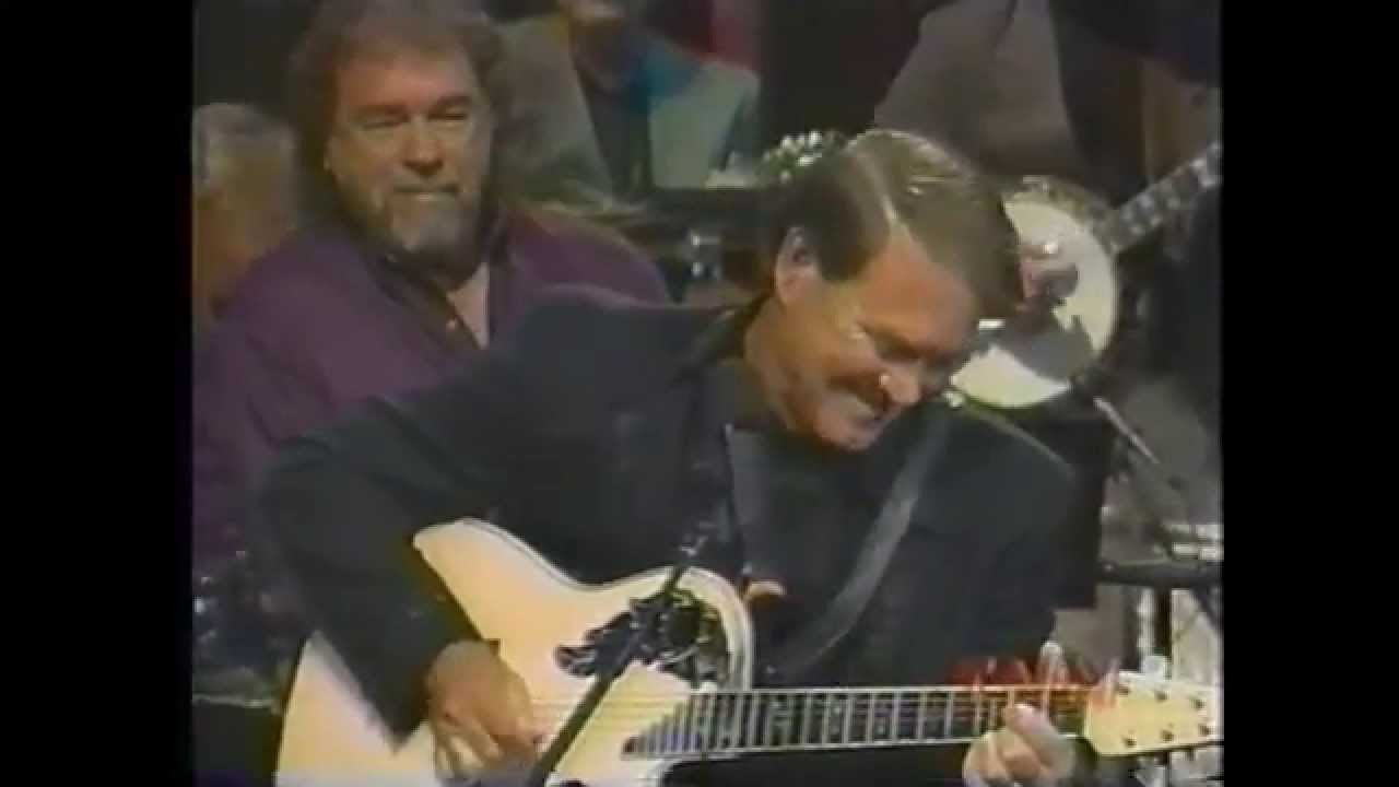 Glen Campbell Gentle On My Mind Terrific Guitar Break Youtube