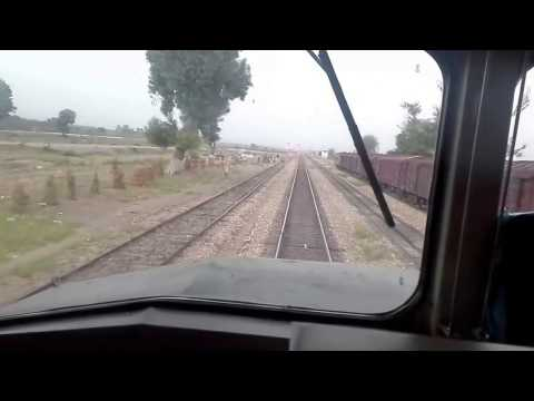 Pakistan Railways Travelling | Inside Engine View