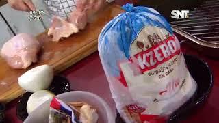 """La cocina de La Mañana: """"Pechuga con salsa de morrones y salteado de remolacha"""""""