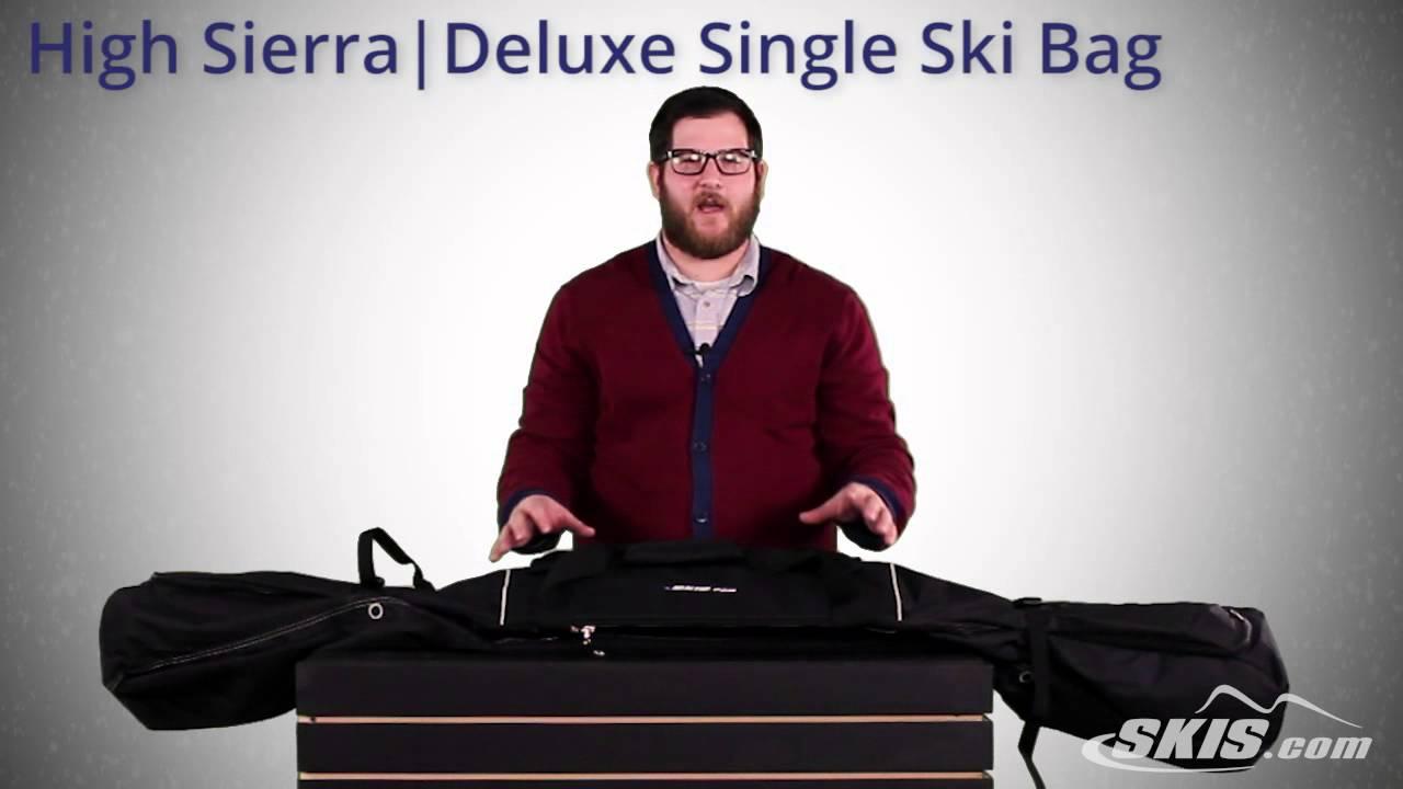 High Sierra Deluxe Single Ski Bag 2017