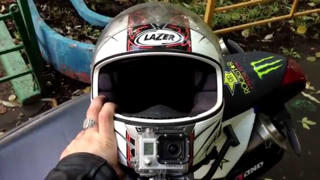 Best Position The Mount Gopro On The Helmet Russia Youtube