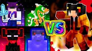 【Minecraft】まさかのうp主vsやみぃ!?マイクラ世界の最強決定コロシアム!!【ゆっくり実況】【マインクラフトmod紹介】