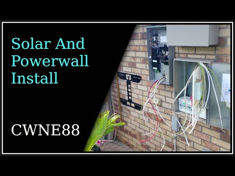 Solar and Powerwall Install