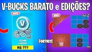 FORTNITE-V-BUCKS cheaper, EDITS and GREAT DESTRUCTION COMING up?