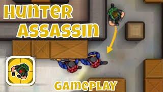 HUNTER ASSASSIN GAMEPLAY 1-10 Walkthrough (iOS)