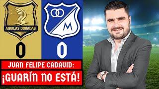 Águilas Doradas 0-0 Millonarios | Liga Dimayor 2021-I | Resumen Goles y Táctica por Juan F. Cadavid